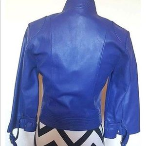 Arden B Jackets & Coats - Arden B REAL lamb leather cropped jacket